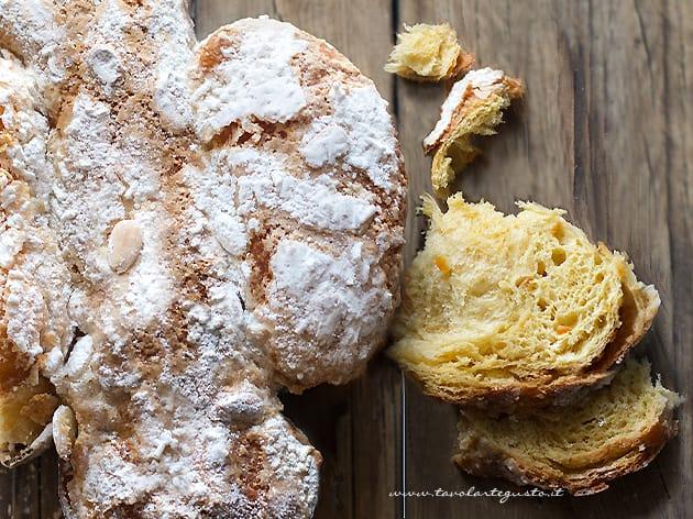 Colomba Pasquale - Colomba di Pasqua - Ricetta Colomba soffice e facile
