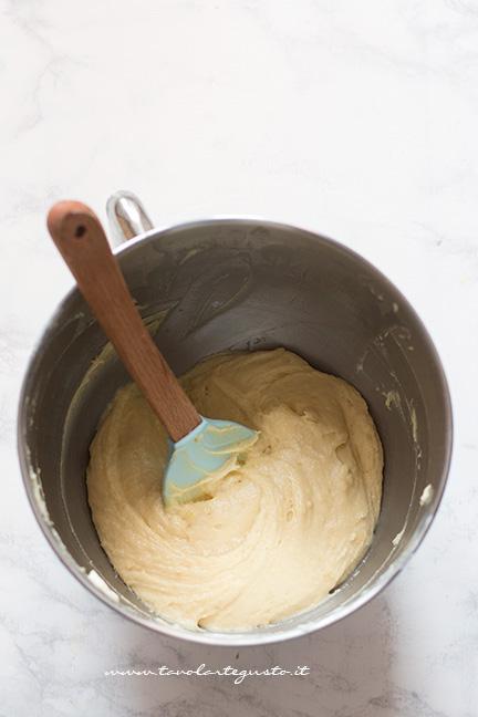 Impasto sodo della torta - Ricetta Torta Ricotta e Fragole