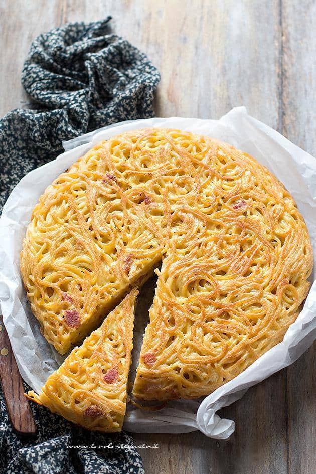 Frittata di Spaghetti - Frittata di Pasta- Ricetta napoletana originale