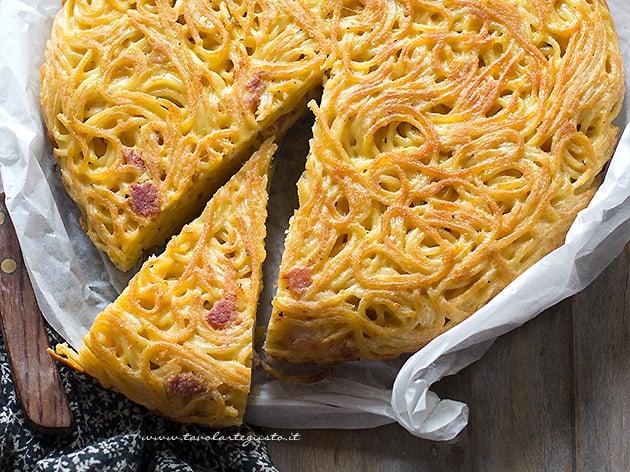Frittata di Spaghetti - Frittata di pasta