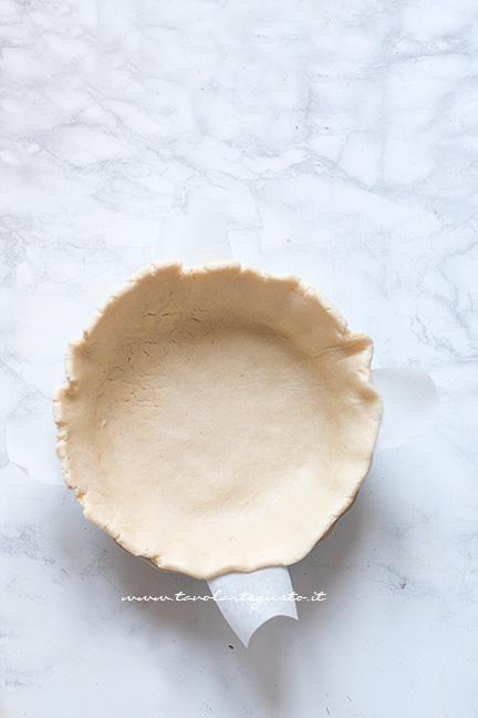 Guscio della torta - Ricetta Torta salata agli Asparagi