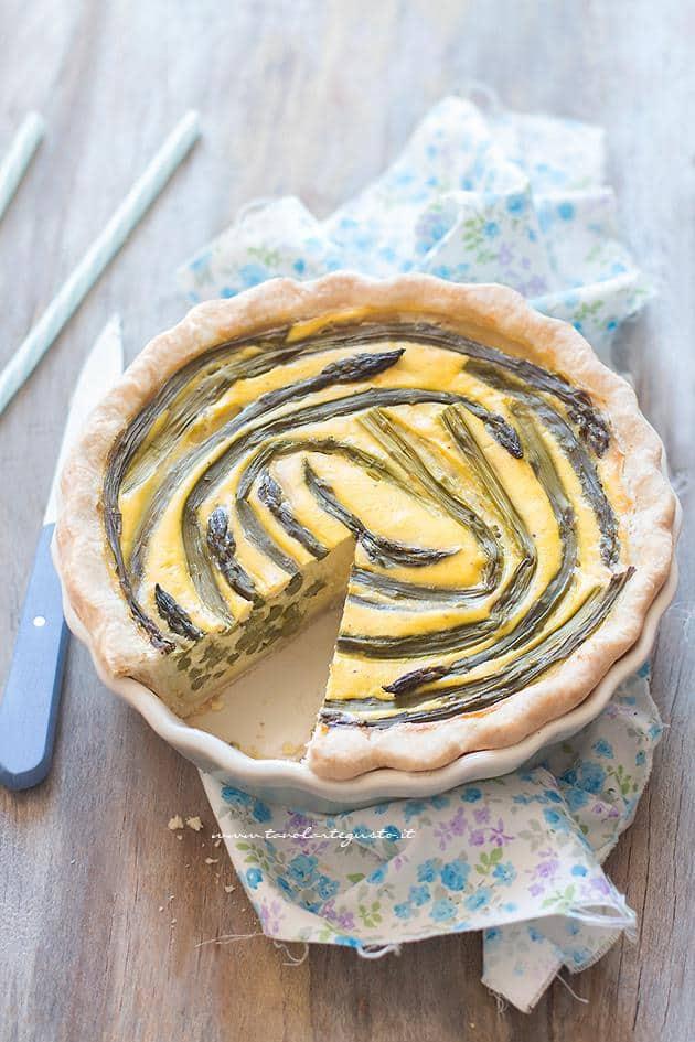 Torta salata agli Asparagi - Ricetta Torta salata Asparagi