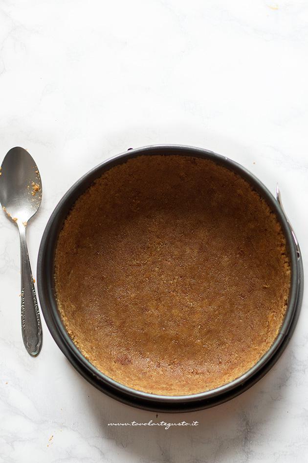 Base biscotto per Cheesecake senza cottura e torte fredde - ricetta passo passo