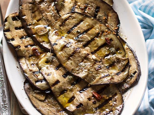 Melanzane grigliate - Ricetta Melanzane grigliate