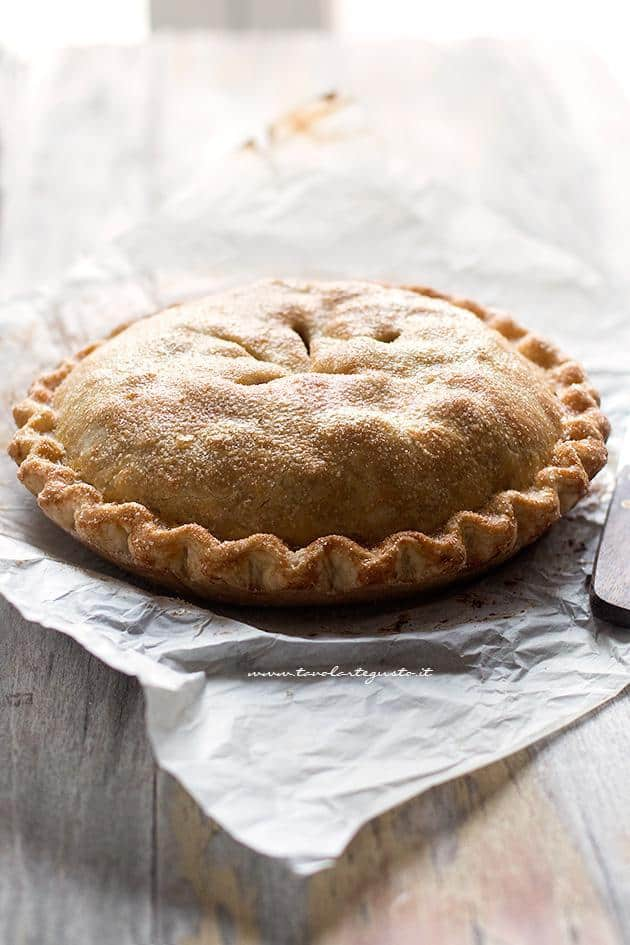 Apple pie, la Torta di mele americana , Ricetta Apple pie