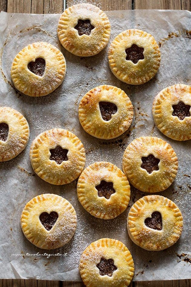 Hand pies - Apple hands pies - Ricetta hands pie