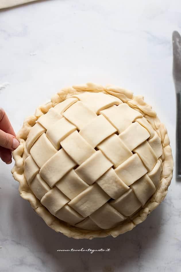 Intreccio perfetto per crostate e pie