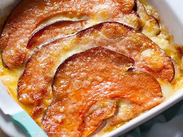 Parmigiana di zucca - Ricetta Parmigiana di zucca-