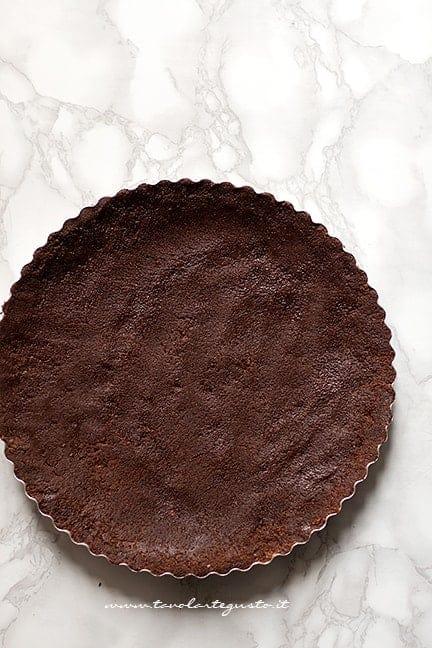 Realizzare il guscio - Ricetta Tarte pere e cioccolato