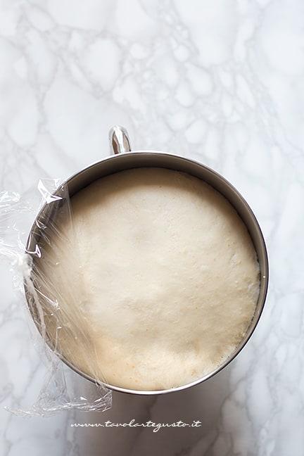 Impasto lievitato - Ricetta Brioches vegane (senza uova,burro e latte)