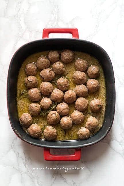 Polpette al forno pronte - Ricetta Polpette di carne al forno