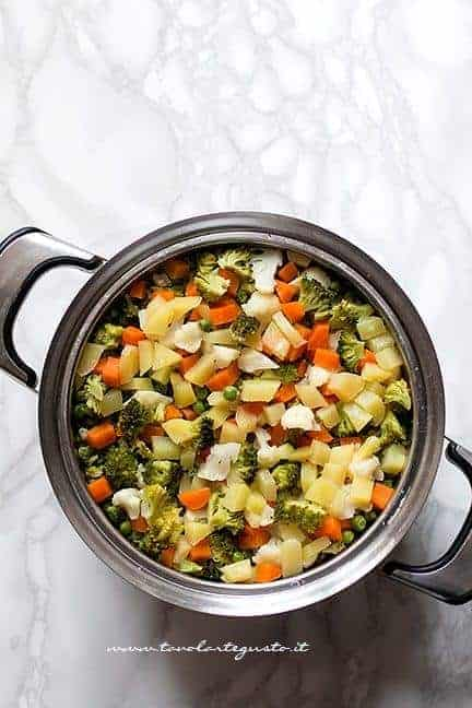 verdure a pezzettini cotte - Ricetta Polpette di Verdure