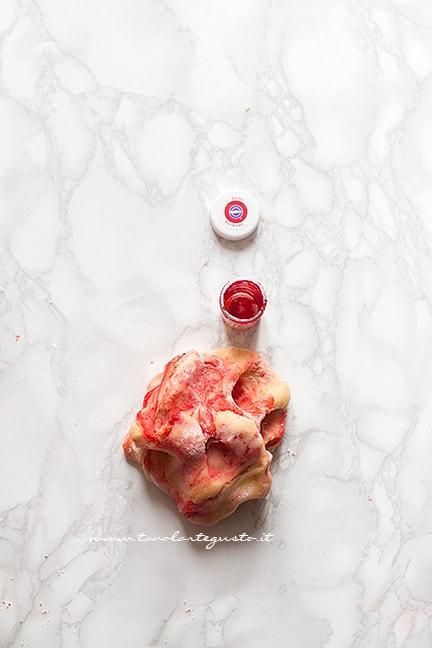 Come fare l'impasto di frolla marmorizzata - Ricetta Biscotti marmorizzati