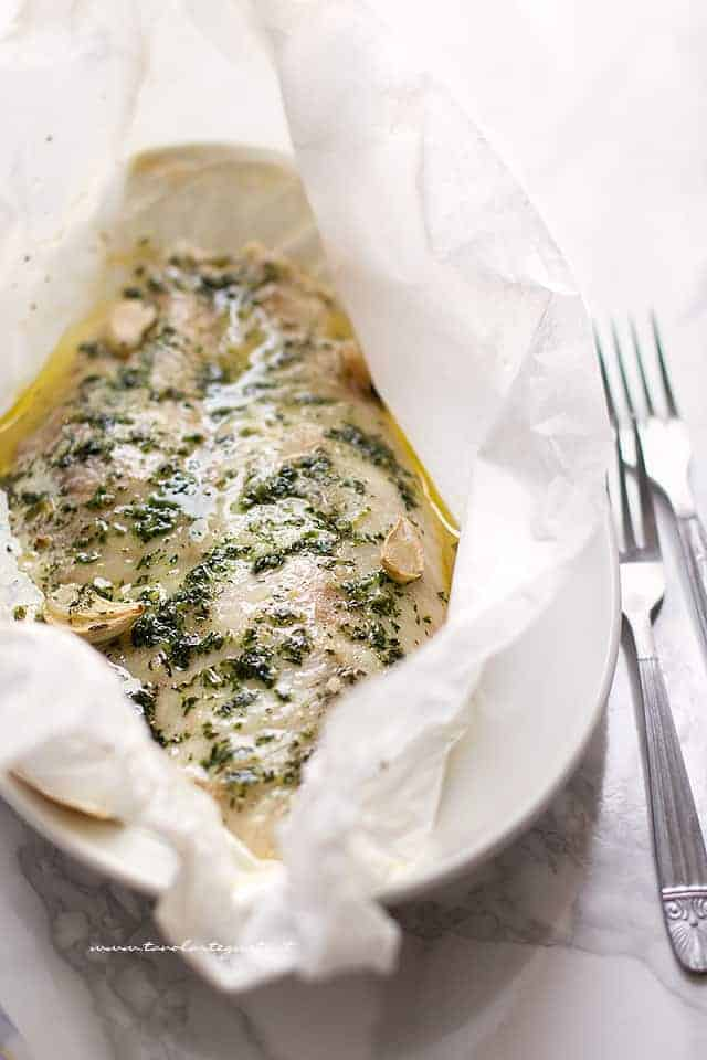 Persico al forno - Ricetta Pesce persico al forno