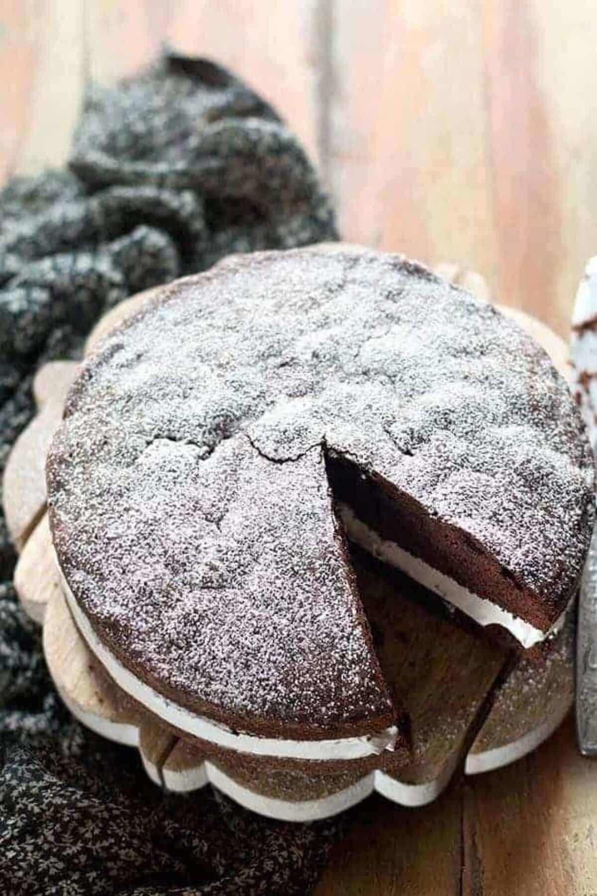 Ricetta Pan Di Spagna Al Cioccolato Al Latte.Torta Paradiso Al Cioccolato Soffice Al Cacao La Ricetta Perfetta