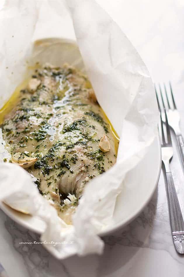 persico al forno morbido e succoso - Ricetta Pesce persico al forno