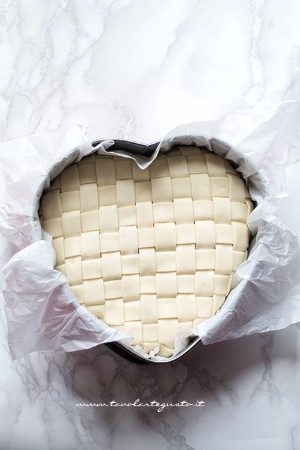 tagliatelle in crosta inserire in frigo - Ricetta Tagliatelle in crosta