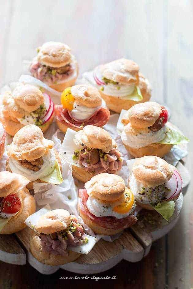 Bignè Salati : Ricetta e Tanti Golosi Ripieni per Riempire i Bignè