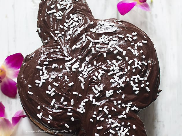 Colomba al cioccolato - Ricetta Colomba al cioccolato