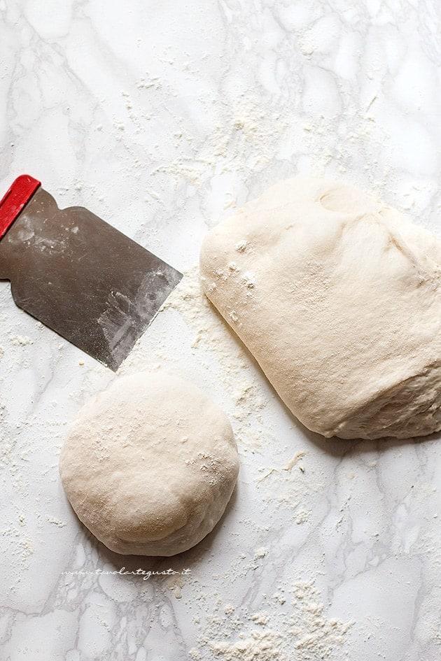 Impasto Pizza base - Pasta per pizza - Ricetta impasto pizza