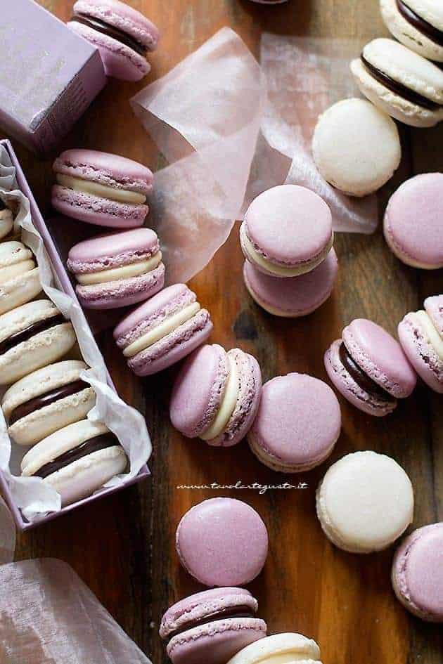 Macarons fatti in casa - tutti i trucchi - Ricetta Macarons