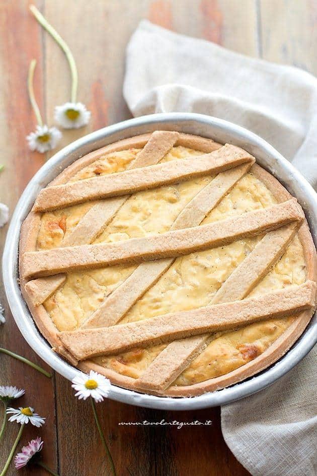 Pastiera Salata : Ricetta Rustica Della Pastiera