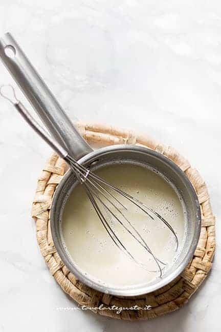 far bollire acqua burro e sale - Ricetta Pasta Choux - Bignè