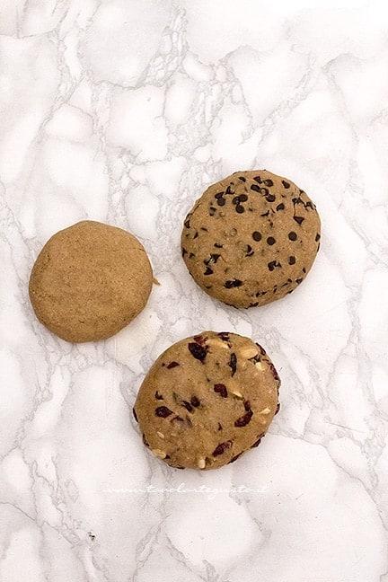 impasto dei biscotti integrali - Ricetta Biscotti integrali