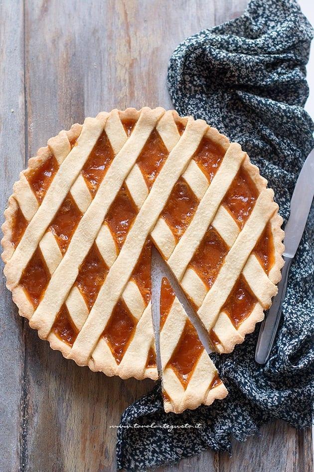 Crostata di Marmellata - Ricetta pasta frolla morbida - Pasta frolla per Crostata