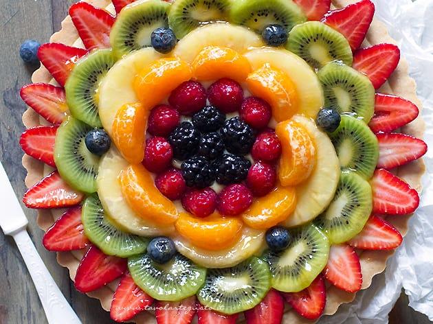 Ricetta Pasta Frolla X Crostata Di Frutta.Crostata Di Frutta Ricetta Classica Della Crostata Alla Frutta Fresca