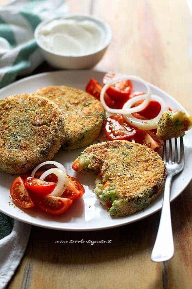 Hamburger di verdure - Hamburger vegetariani - Ricetta Hambuger di verdure