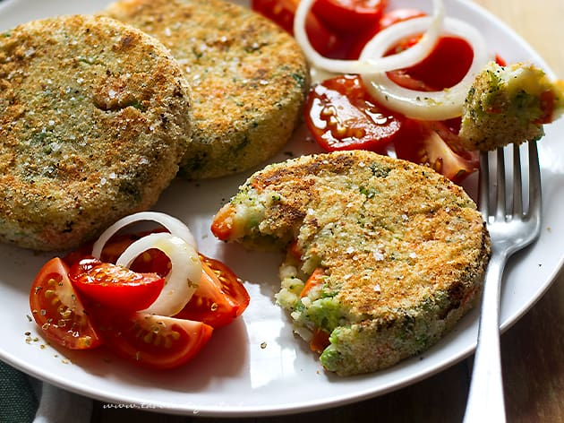 Hamburger di verdure - Hamburger vegetariani - Ricetta Hamburger di verdure