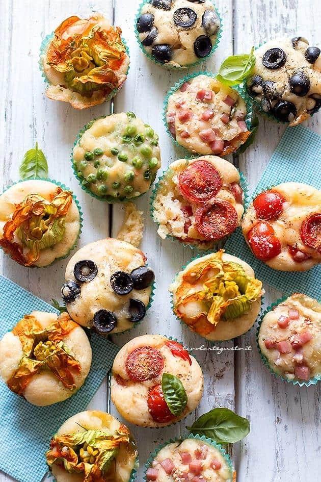 Muffin Salati: Ricetta Veloce Base per Mille Gusti Diversi!