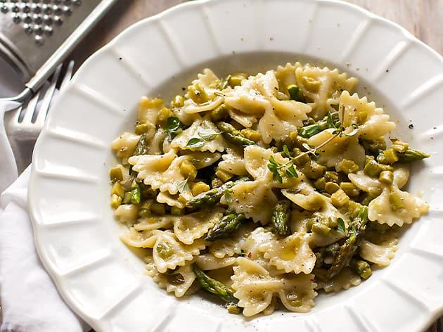 Pasta con asparagi - Ricetta Pasta agli asparagi-