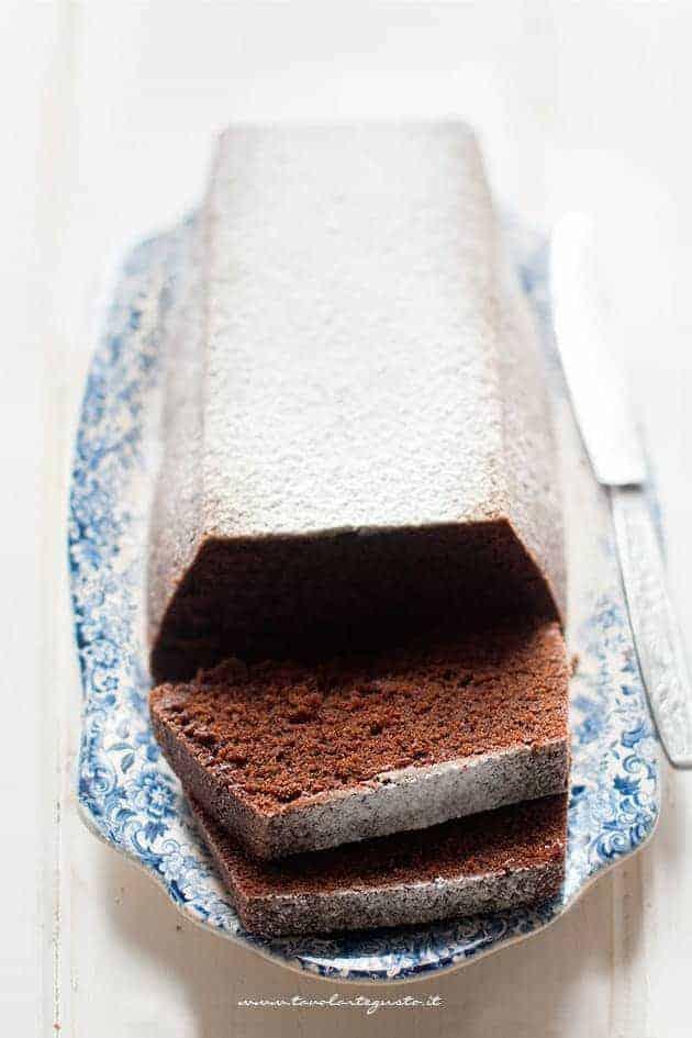 Plumcake al cioccolato soffice - Ricetta Plumcake al cioccolato