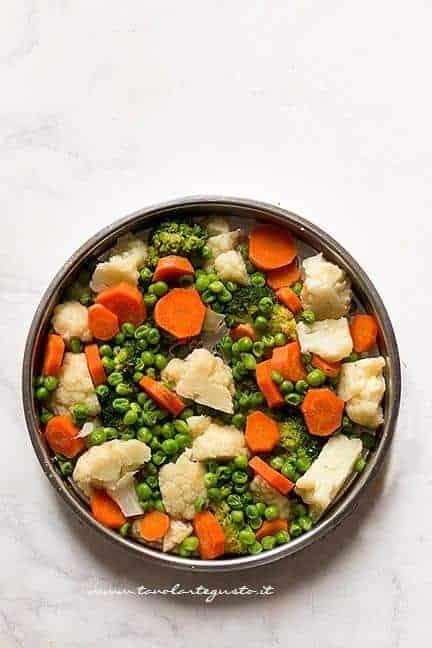 cuocere a vapore le verdure - Ricetta Hambuger di verdure - Hamburger vegetariani