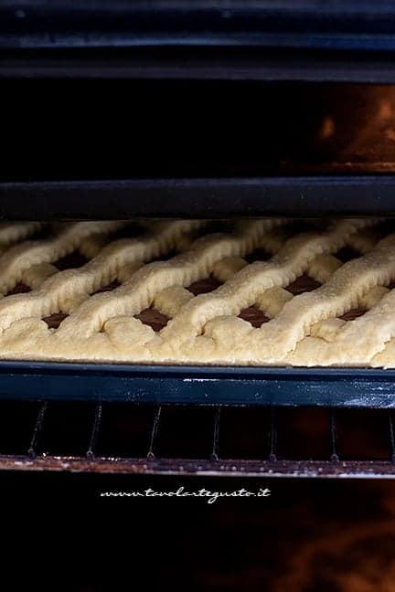 Cottura perfetta per un cuore cremoso - Ricetta Crostata alla nutella