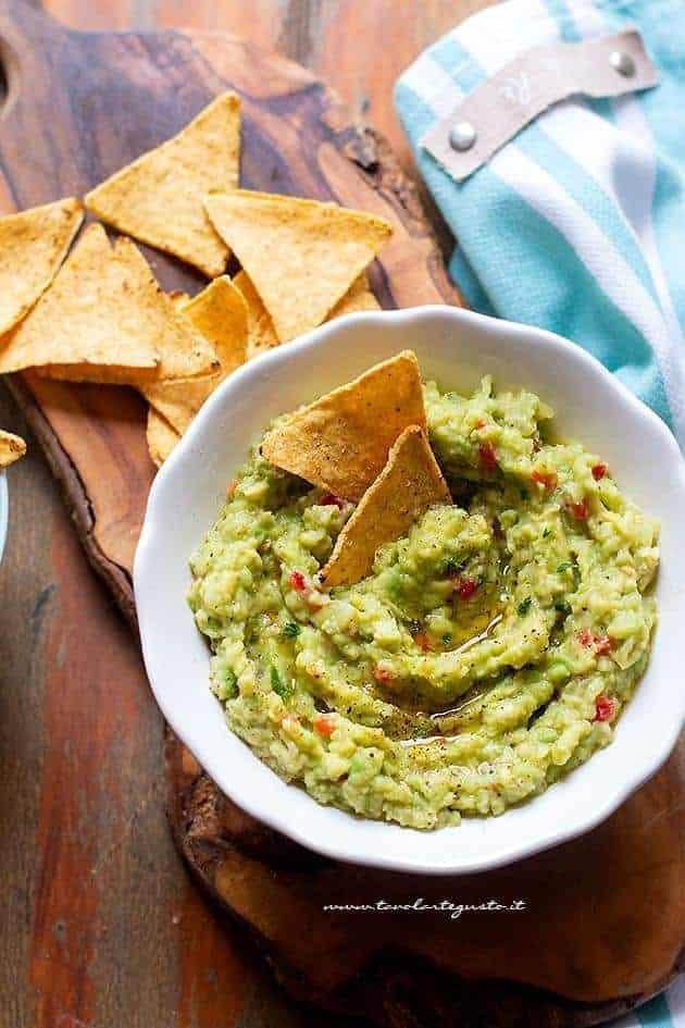 Guacamole - Ricetta Salsa Guacamole
