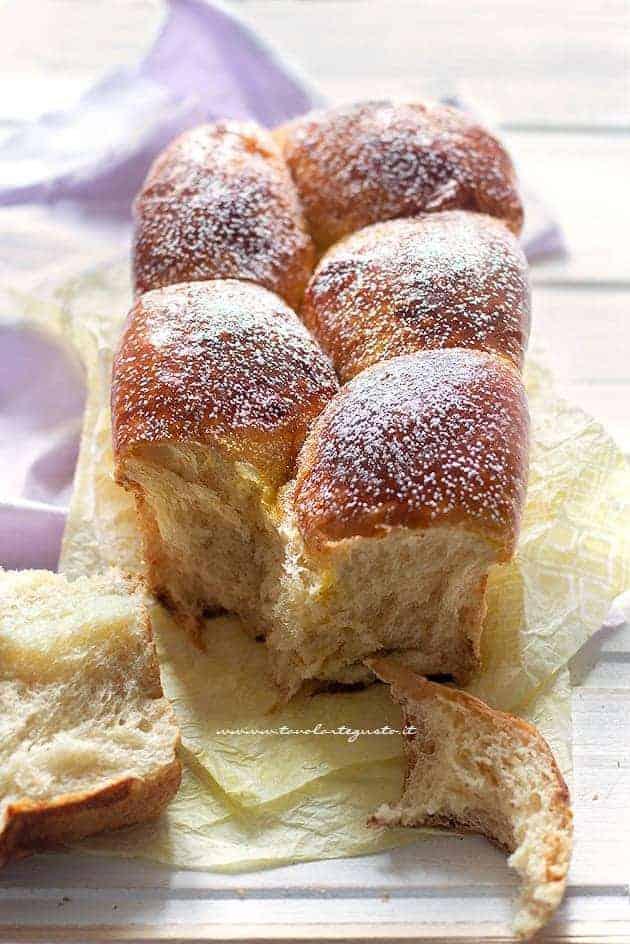 Pan brioche dolce - Ricetta pan brioche