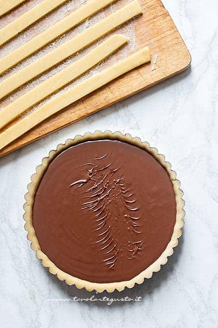 farcire con la nutella - Ricetta Crostata alla nutella