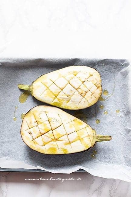 Ammorbidire le melanzane in forno - Ricetta Melanzane ripiene