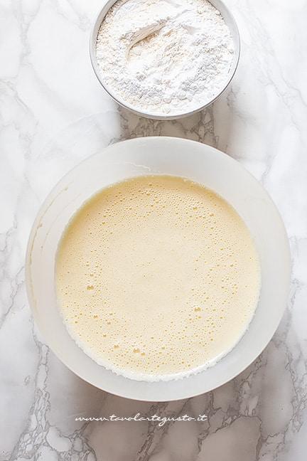 Impasto allo yogurt - Ricetta Plumcake con gocce di cioccolato