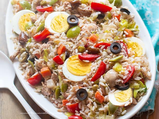 Insalata di riso - Ricetta Insalata di riso-