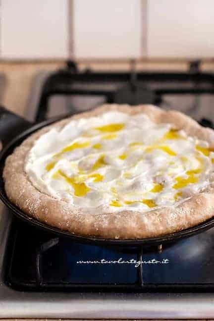 Cottura pizza integrale - Ricetta pizza integrale