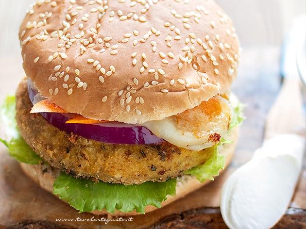 Hamburger di ceci - Ricetta Hamburger di ceci-