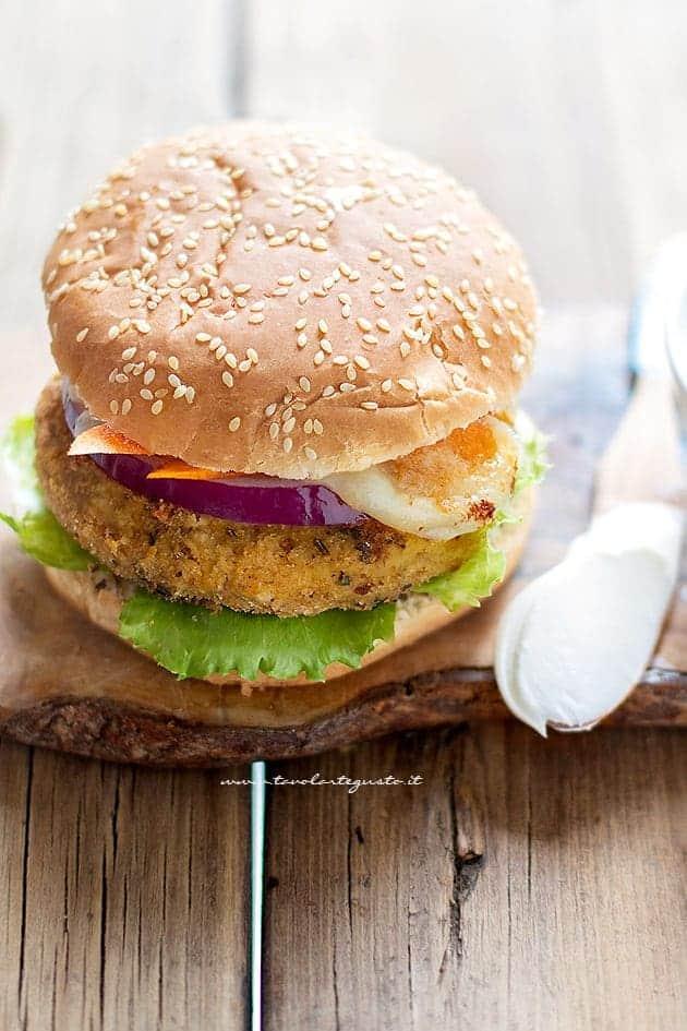 Hamburger di ceci - Ricetta Hamburger di ceci