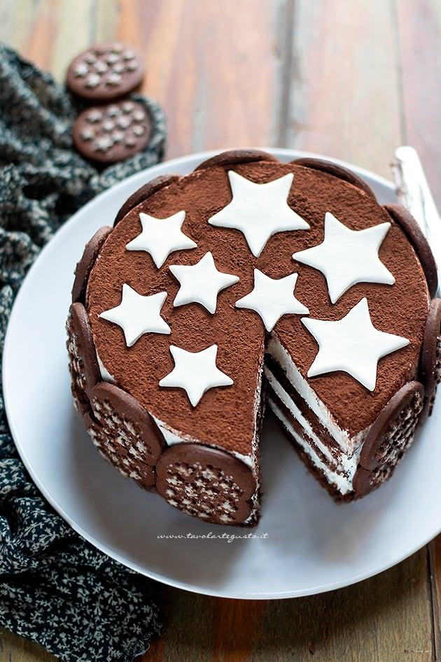 Torta pan di stelle - Ricetta Torta pan di stelle