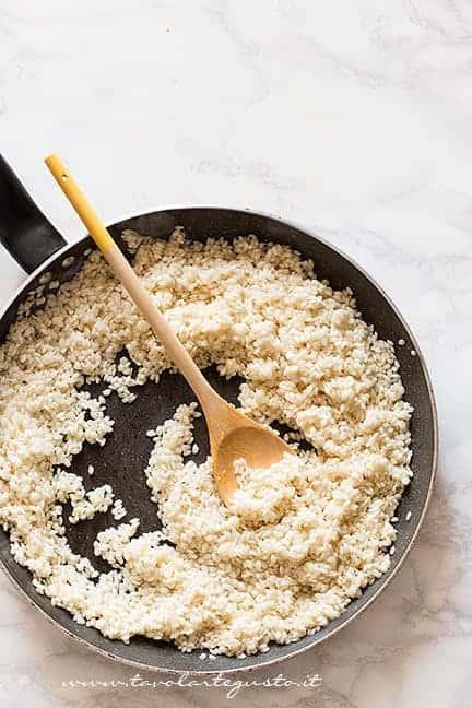 Tostare riso - Ricetta Risotto alla zucca