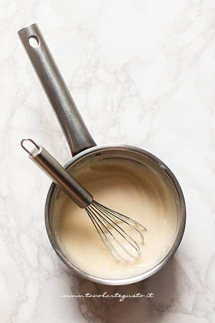 besciamella morbida - Ricetta Pasta al forno