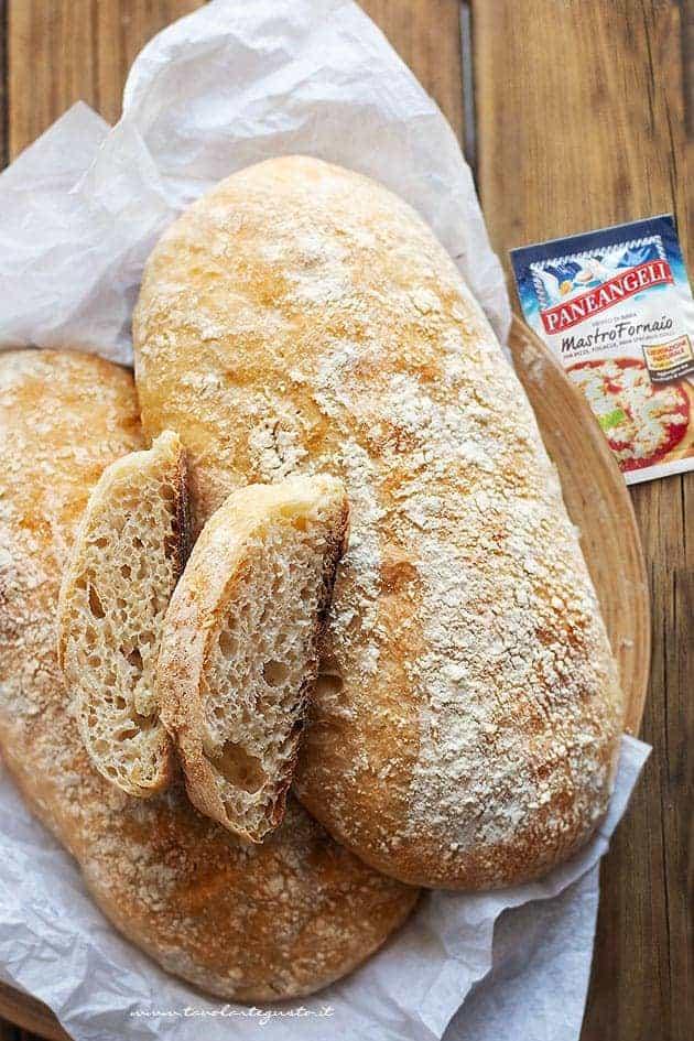 Come fare il pane fatto in casa - Ricetta Pane